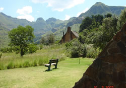 accommodation thendele camp